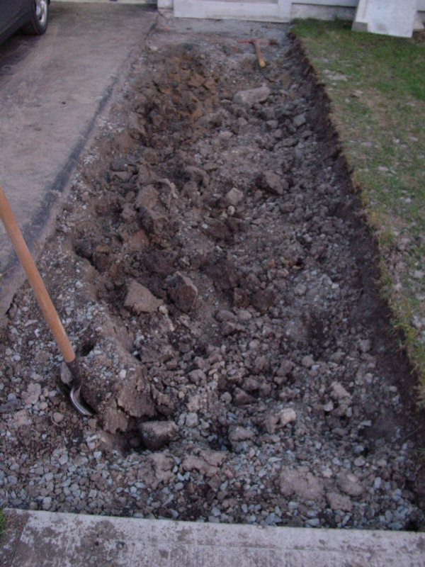 Diy extended driveway project with interlocking stone diyable diy extended driveway project with interlocking stone solutioingenieria Images