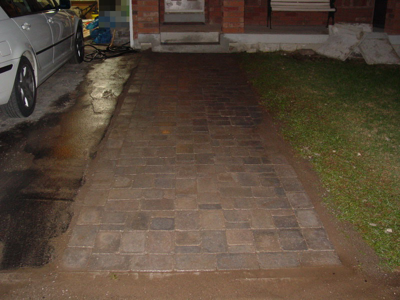 Diy extended driveway project with interlocking stone diyable extendeddriveway00033g solutioingenieria Images