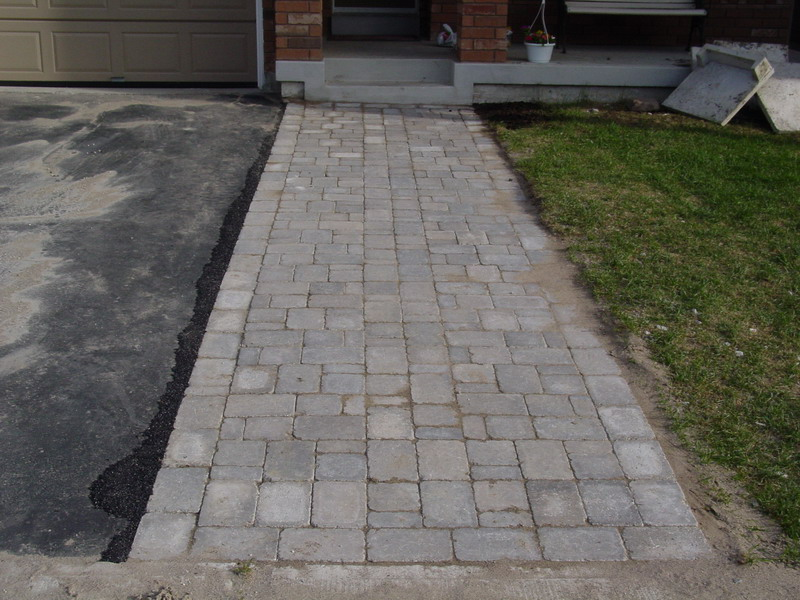 Diy Extended Driveway Project With Interlocking Stone