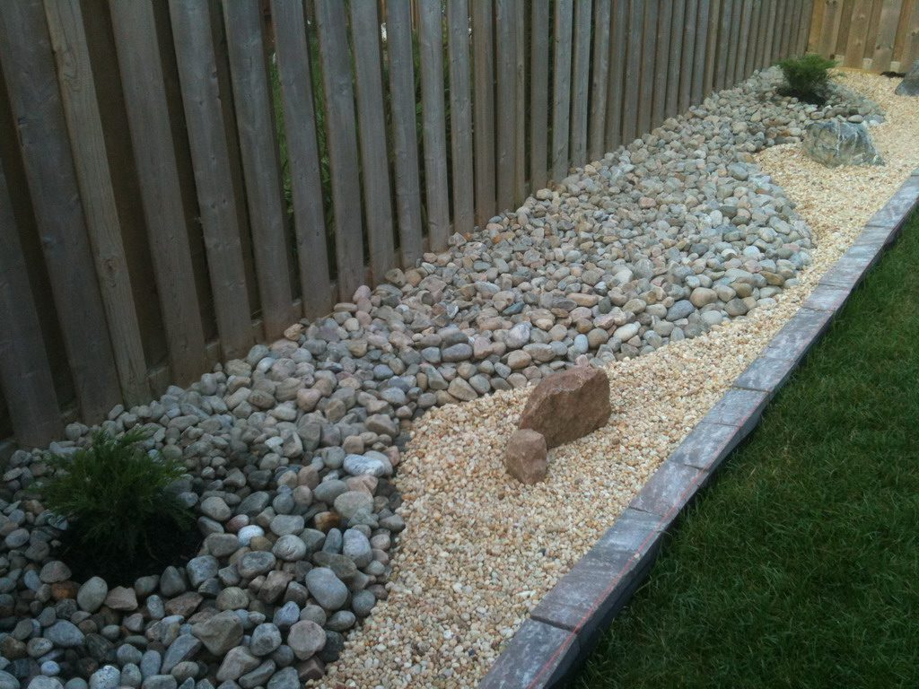 Diy Landscaping Project Fixing Drainage In Backyard