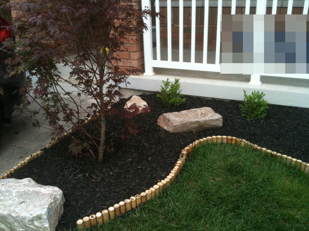 Diy Landscaping Project Fixing Drainage In Backyard Front Yard Makeover