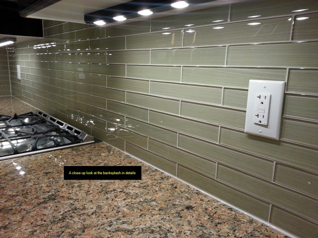 how to cut subway glass tiles for backsplash