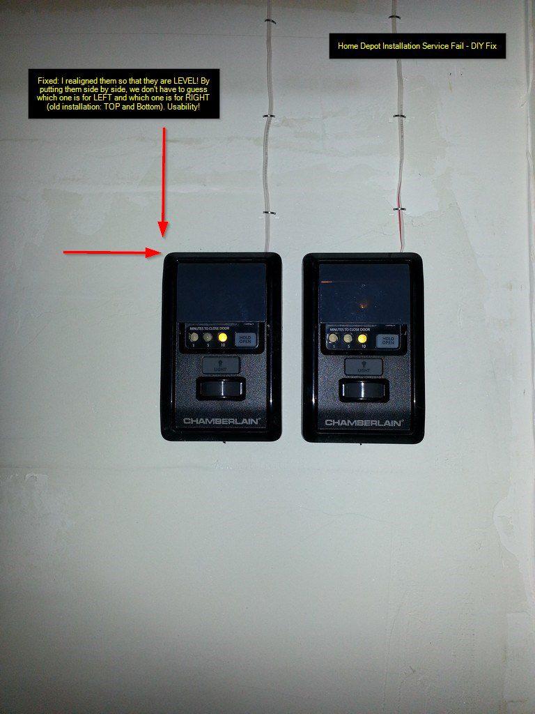 Door Install Fail : Diy fix home depot installation service fail garage