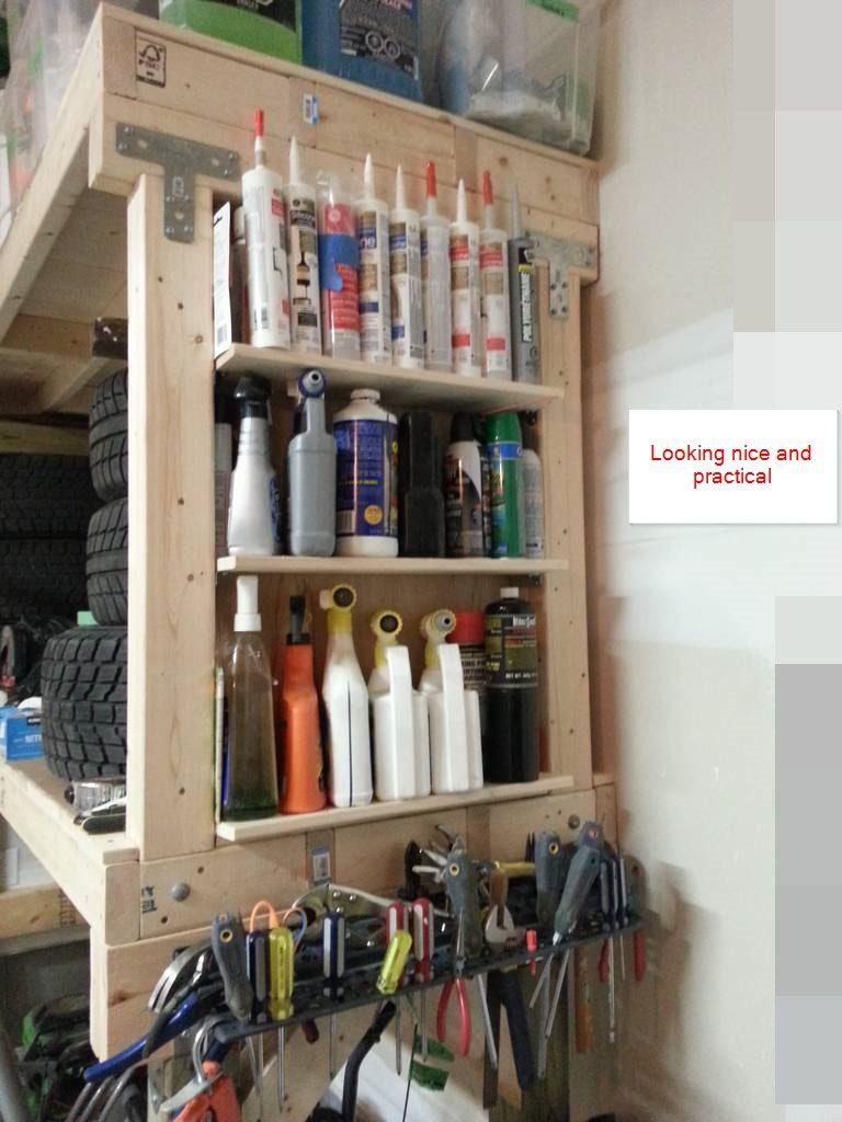 DIY Heavy Duty Garage Shelves – Diyable.com