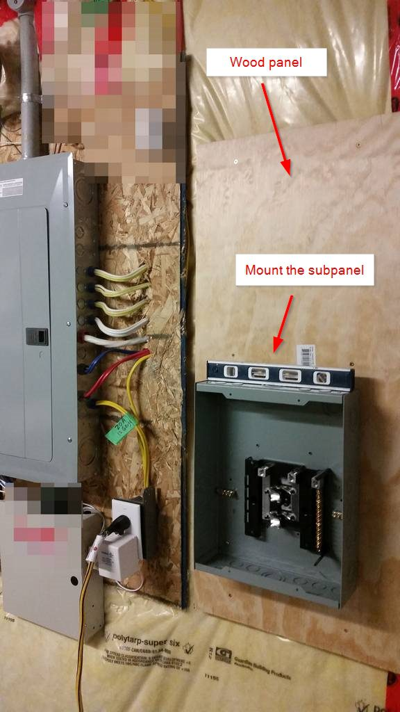 Diy 240v Sub Panel Siemens Eql8100d Installation In Canada
