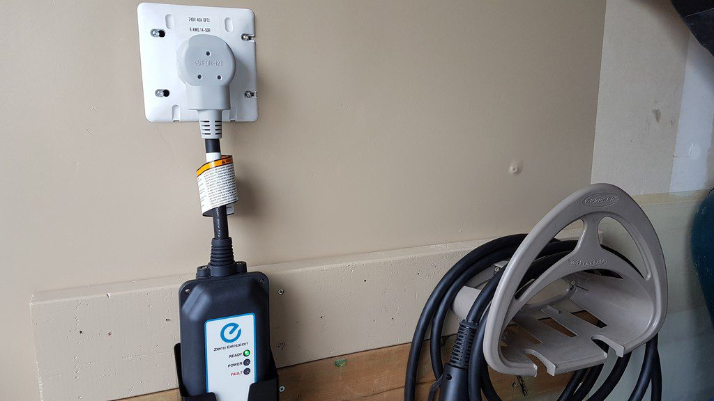 Level  Electric Car Charger With Timer
